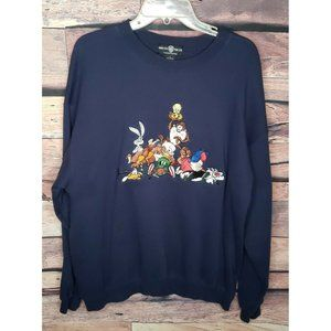 Warner Brothers Long Sleeve Large Sweatshirt